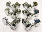 Wilkinson Rotomatic Style 3-a-side Set (6pcs) for 10mm holes Chrome